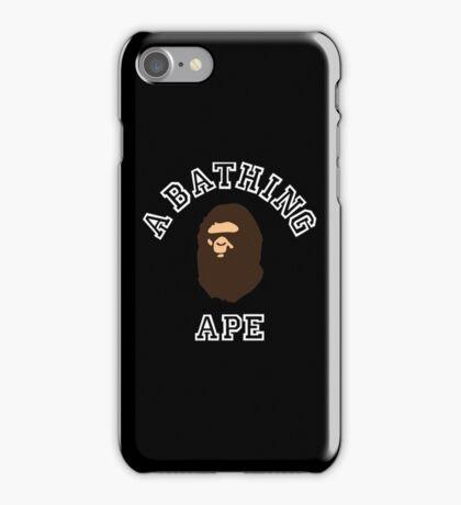 bathing ape iPhone Case/Skin