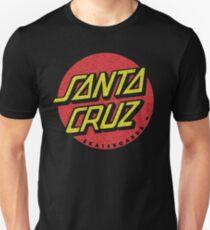Santa Cruz 'worn out' logo Unisex T-Shirt