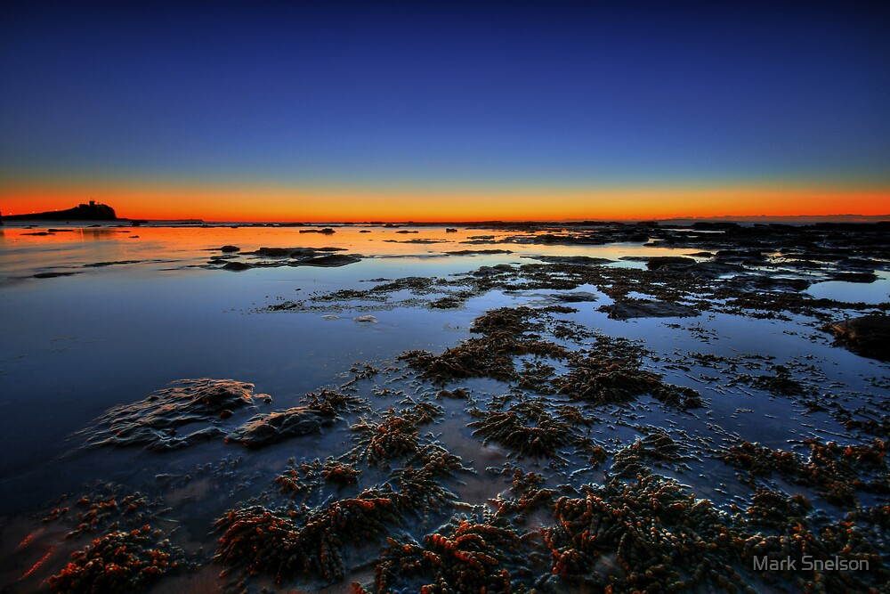 Nobby's at Dawn by Mark Snelson