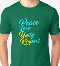 PLUR - Peace Love Unity Respect Unisex T-Shirt