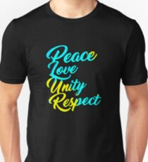 PLUR - Peace Love Unity Respect Unisex T-Shirt