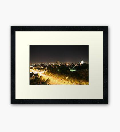 Exhibition Framed Print