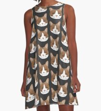 Cat Face Dress A-Line Dress