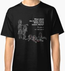 Rick and Morty kill themselves in white Classic T-Shirt