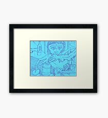 spiderwoman personified Framed Print