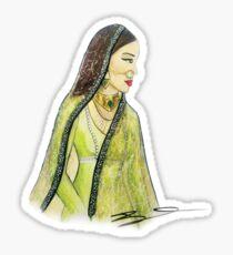 Mughal Bibi Sticker