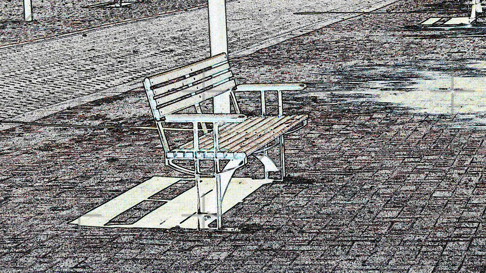 Empty Bench by Sandra Chung