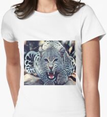 The Leopard Womens Fitted T-Shirt