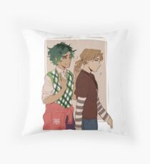 Ponytail Throw Pillow