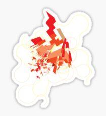 Explode Sticker