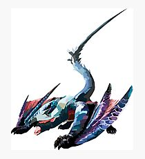Nargacuga - Monster Hunter Photographic Print