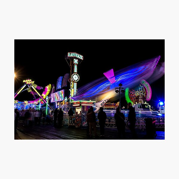 Showtime after dark Photographic Print