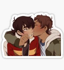 Cheek Kiss Sticker