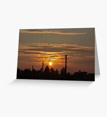 Kensington Sunset Series - 0128 Greeting Card