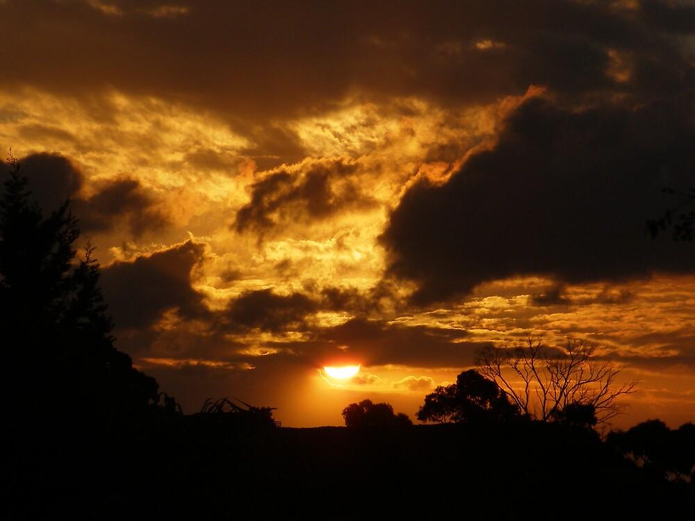 Firey sky  by Cocopops