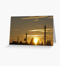 Kensington Sunset Series - 0135 Greeting Card