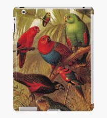 Parrots in the Jungle iPad Case/Skin