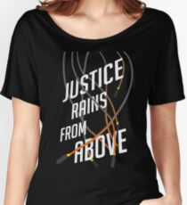 Justice Rains! Women's Relaxed Fit T-Shirt