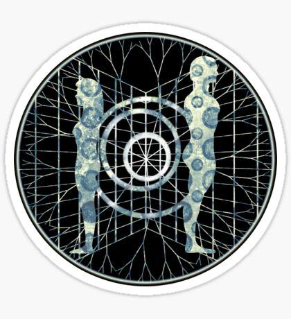 shooting neurons - sticker Sticker