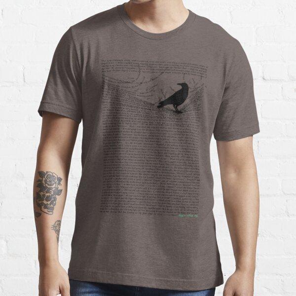 The Raven by Edgar Allan Poe Essential T-Shirt
