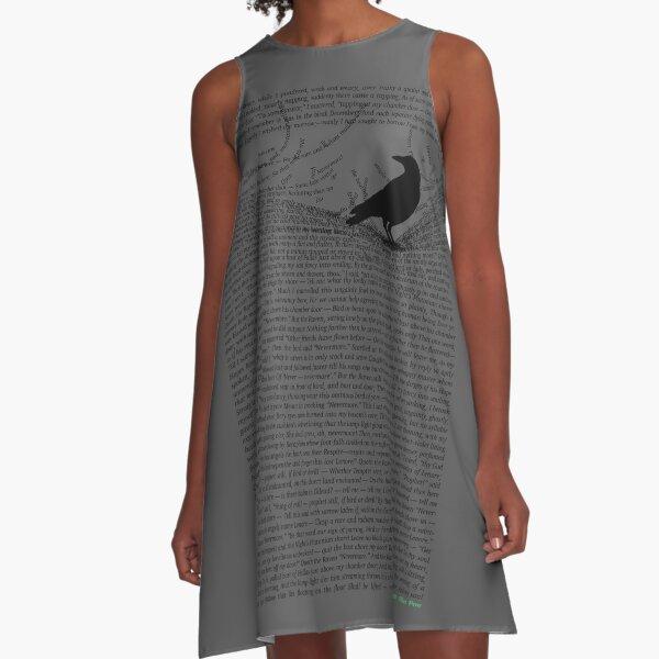 The Raven by Edgar Allan Poe A-Line Dress
