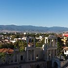 Layers and Centuries - Plovdiv the Antique Roman Theater and Rhodope Mountains by Georgia Mizuleva
