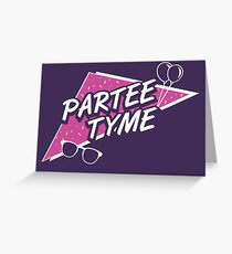 Official Dirty 30 - Partee Tyme Tee Greeting Card