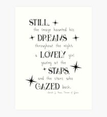 Throne of Glass Quote Art Print