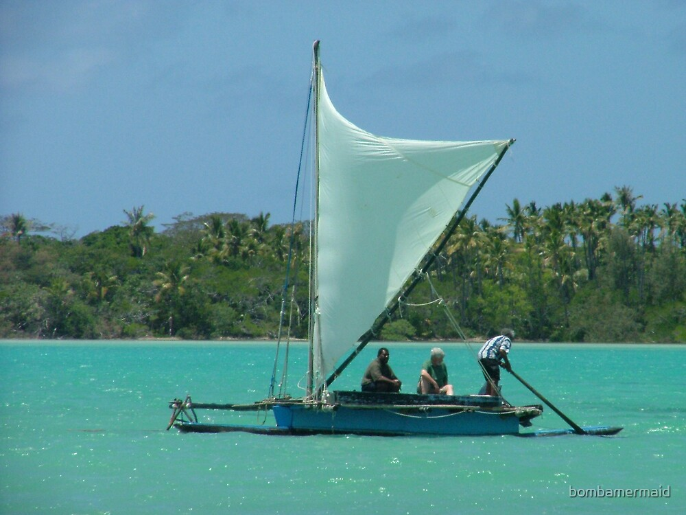 Outrigger in Noumea by bombamermaid