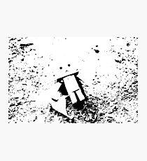 Lost Robot Photographic Print