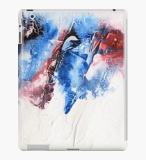 Red, blue and purple abstract iPad Case/Skin
