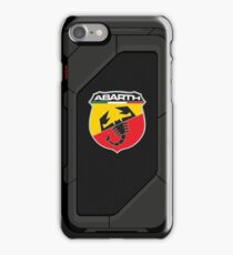 Abarth high tech shell iPhone Case/Skin