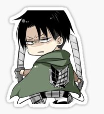 Levi Kawaii Sticker
