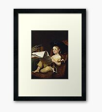 Charles Bird King - Grandfather S Hobby Framed Print