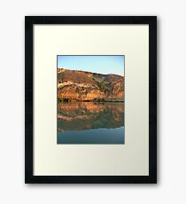 Reflections on the Murray Framed Print