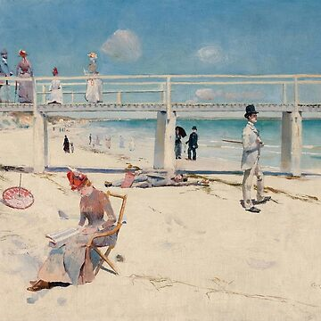 Charles Conder - A Holiday At Mentone 1888 by artcenter