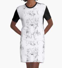 Shrek 2 T-Shirt Kleid