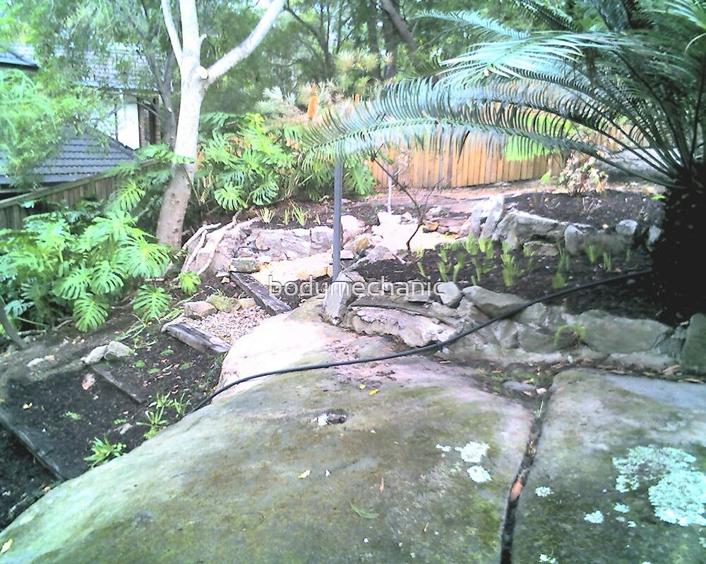 garden art by bodymechanic