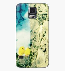 Chicks in a tree Case/Skin for Samsung Galaxy