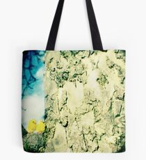 Chicks in a tree Tote Bag