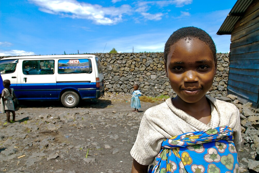 'Orphan & Child,' Southern Democratic Republic of Congo by Melinda Kerr