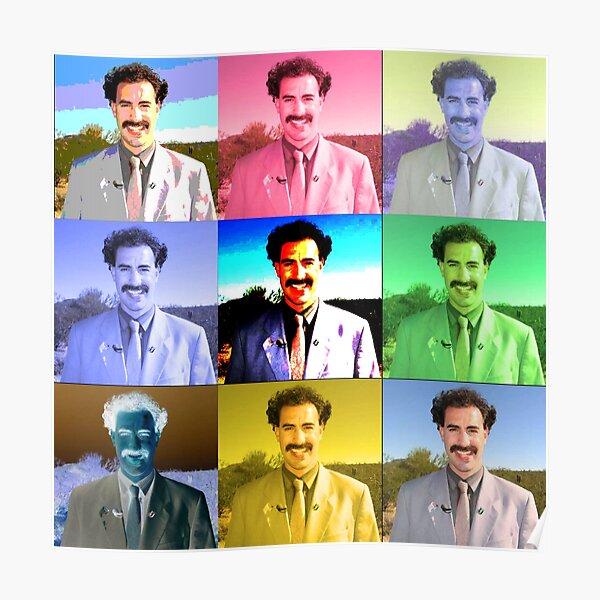 Borat Collage Poster