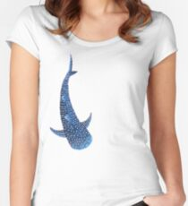 Whale Shark Women's Fitted Scoop T-Shirt