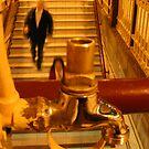 Stairs between Platform 2 & 3, Flinders Street Station by rick strodder