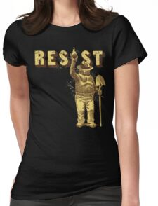 """Smokey Says """"Resist"""" Womens Fitted T-Shirt"""
