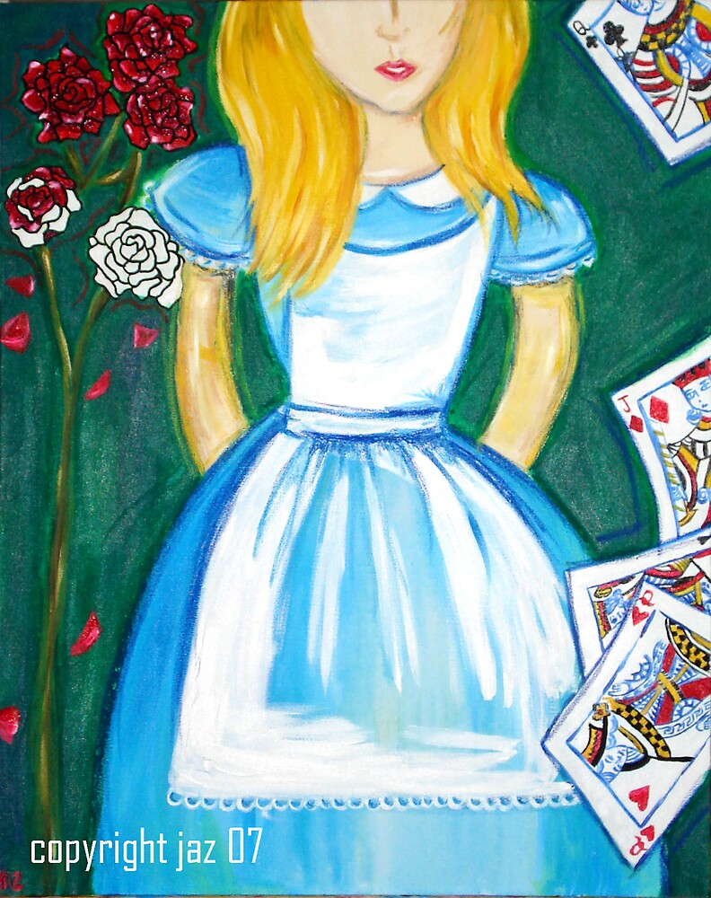 """Alice in Wonderland I"" by Jaz G"