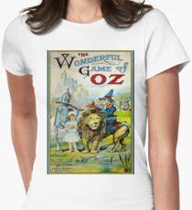 OZ; Vintage Game Advertising Print T-Shirt