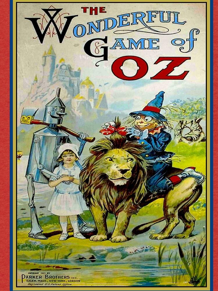 OZ; Vintage Game Advertising Print by posterbobs