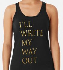 Write My Way Out Women's Tank Top