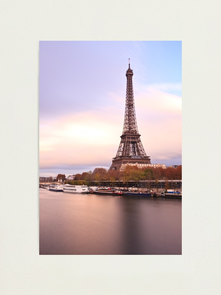 Alternate view of Eiffel Tower Photographic Print